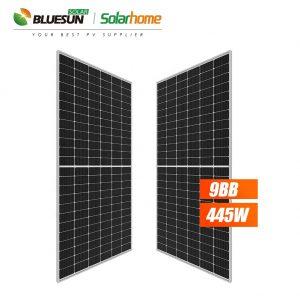Tấm pin năng lượng mặt trời Bluesun BSM445P-72HPH