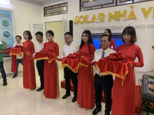Lễ khai trương văn phòng đại diện tại Cà Mau chuyên về hệ thống điện mặt trời của Công ty TNHH Thương mại và dịch vụ kỹ thuật Nhà Việt